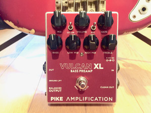 PIKE AMPLIFICATION  VULCAN XL BASS PREAMP