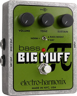 Electro Harmonix    Bass Big Muff Pi Distortion Sustainer