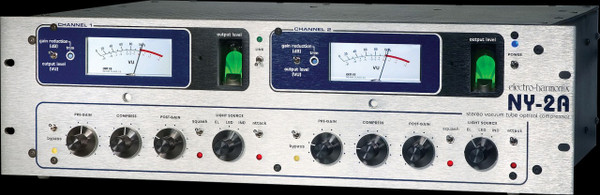 Electro Hamonix   NY-2A Rackmount Stereo Tube Optical Compressor