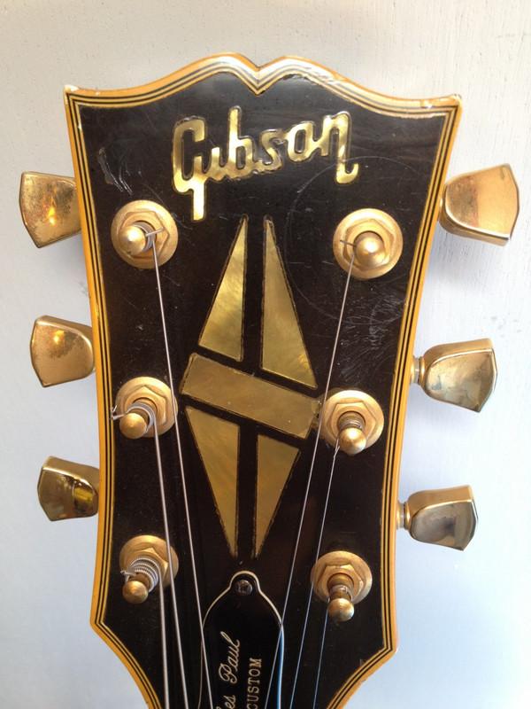 Used '72 Gibson Les Paul Custom Black Beauty SOLD!!!