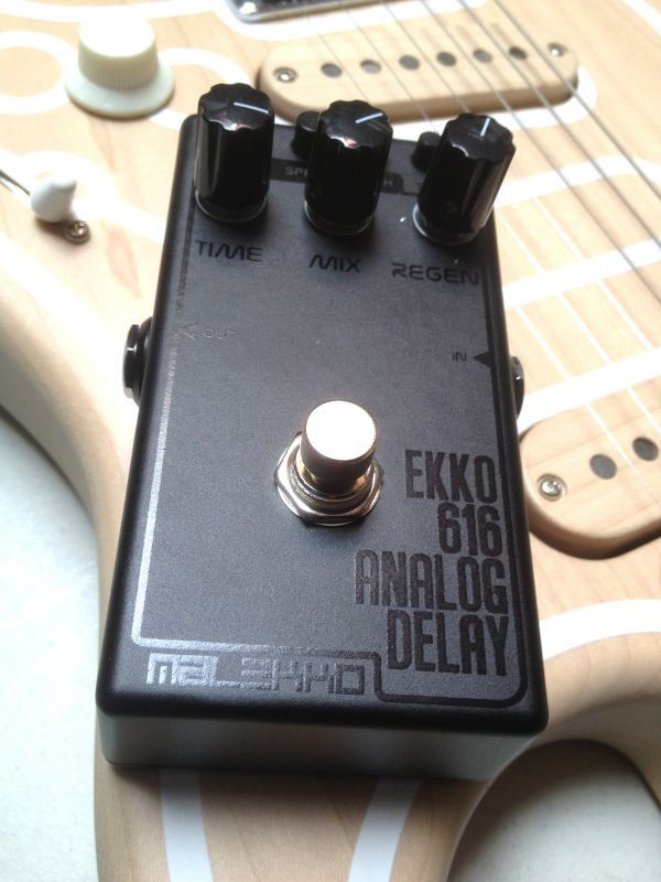 Malekko Ekko 616 650ms Analog Delay Pedal DARK