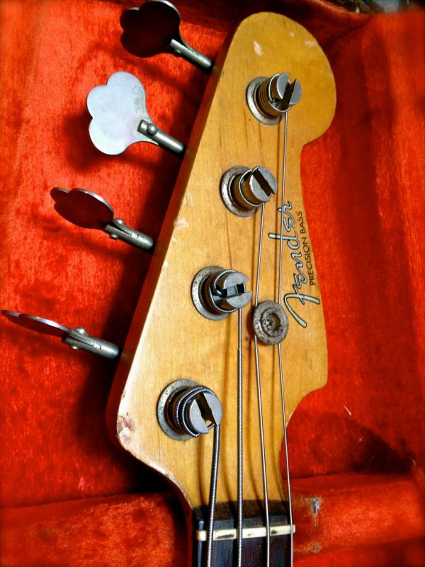 Used '61 Fender Precision Bass SOLD