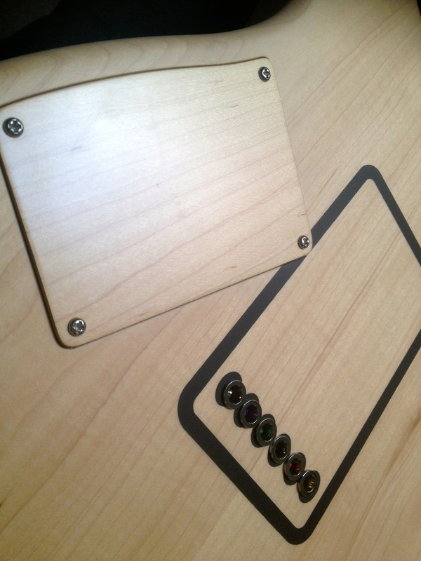 "Barton's Guitar ""Draw"" Black w/bag"