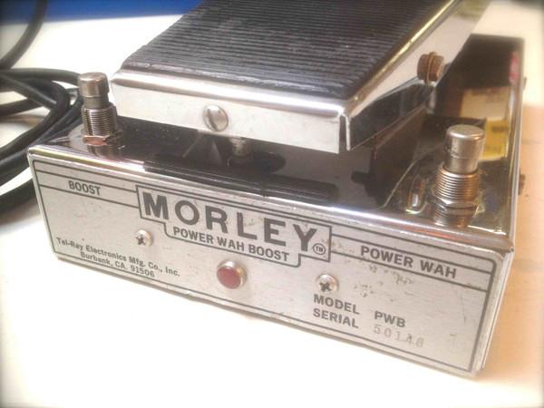 Used Morley Vintage Power Wah Boost SOLD