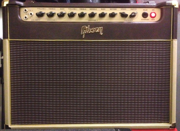 Used Gibson GA 20RVT 1x12 Guitar Combo Amp w/cover, mint