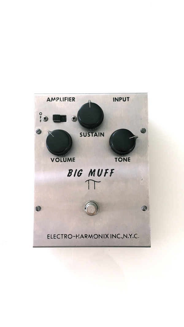 Vintage Electro Harmonix Triangle Big Muff Pi SOLD!!!