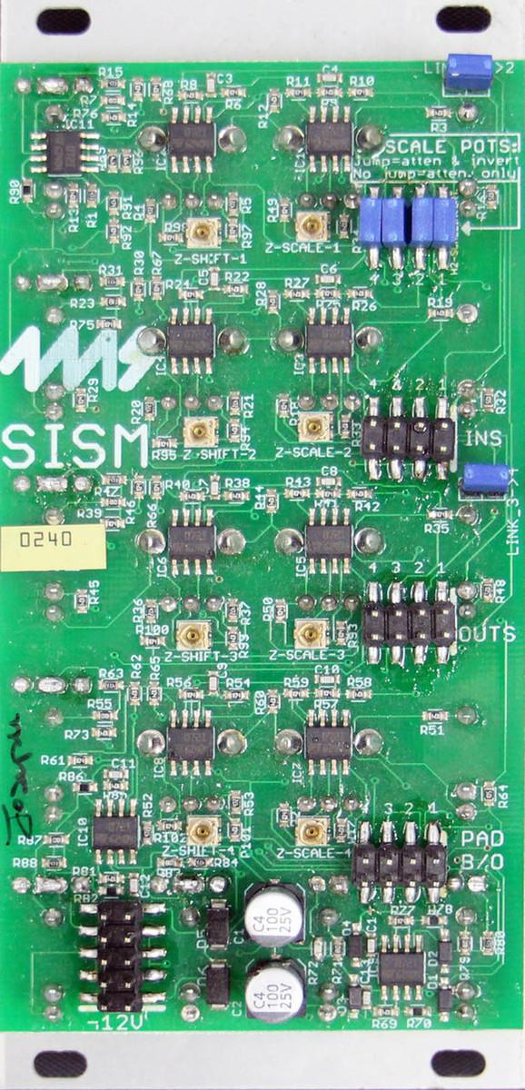 4ms SISM: Shifting Inverting Signal Mingler