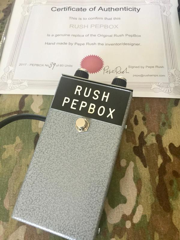Rush PepBox