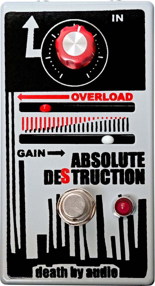 DEATH BY AUDIO ABSOLUTE DESTRUCTION