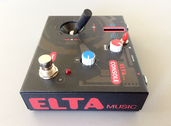 Elta Music CONSOLE Cartridge FX Device (Black) w/ 10 cartridges
