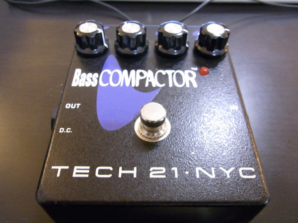 Used Tech 21  Bass Compactor SOLD...
