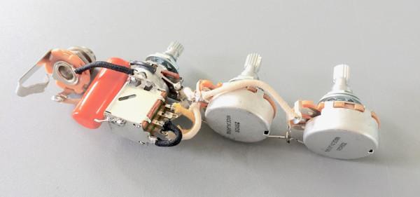GWNN Custom Circuit TURBO for JAZZ BASS(Metric)