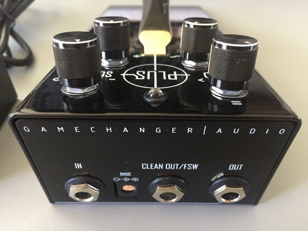 GAMECHANGER AUDIO PLUS PEDAL (no wet foot switch)