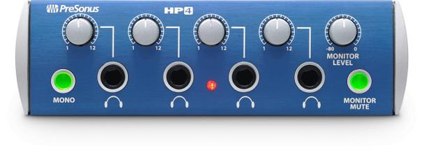 PreSonus HP4 4-channel Headphone Monitor with 150 mWatts at 51 Ohms