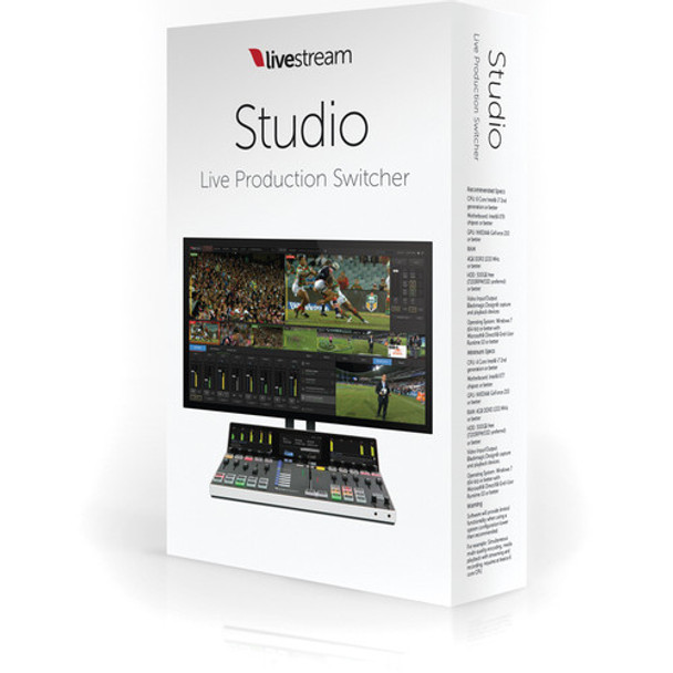 Livestream Studio Software
