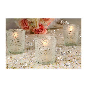 Set of 12 Art Deco Votive Holders