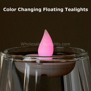 Color Changing Floating Flameless TeaLight Candles - 12 Pack