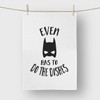 Even Batman has to do the Dishes Tea Towel