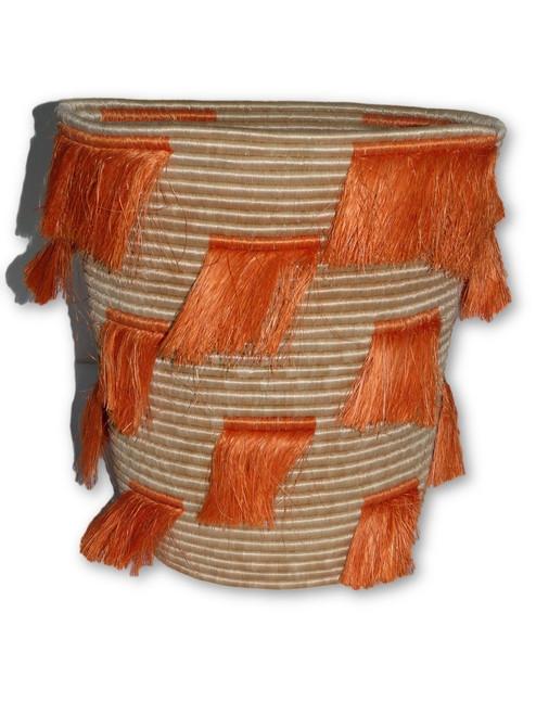 Orange lashes Basket - Large