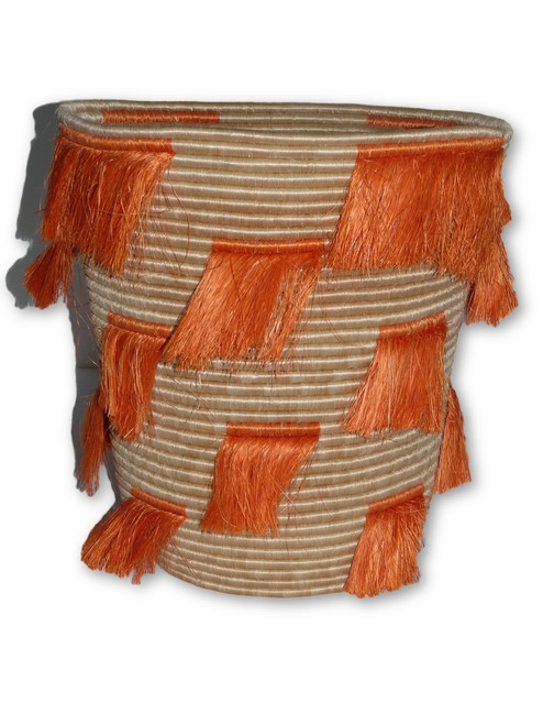 Orange lashes Basket - Large
