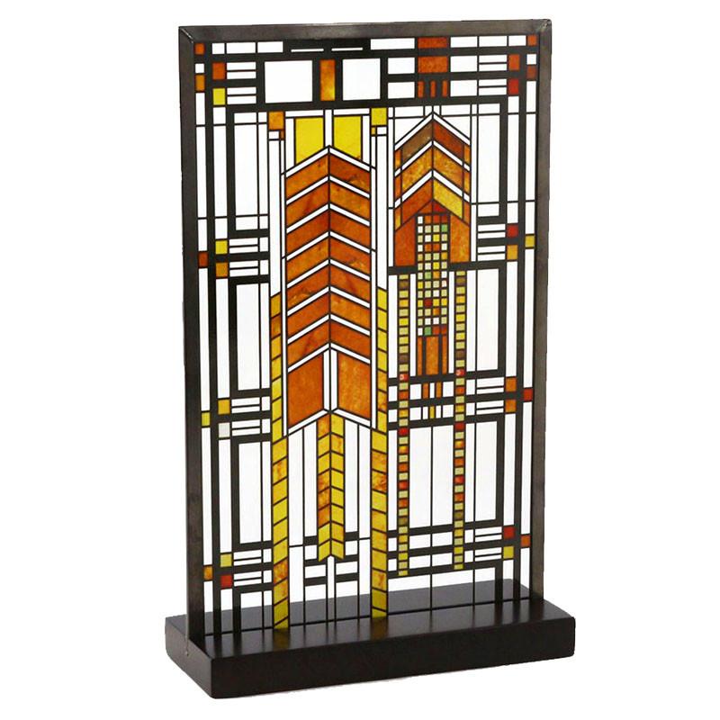 Frank Lloyd Wright Autumn Sumac Stained Glass