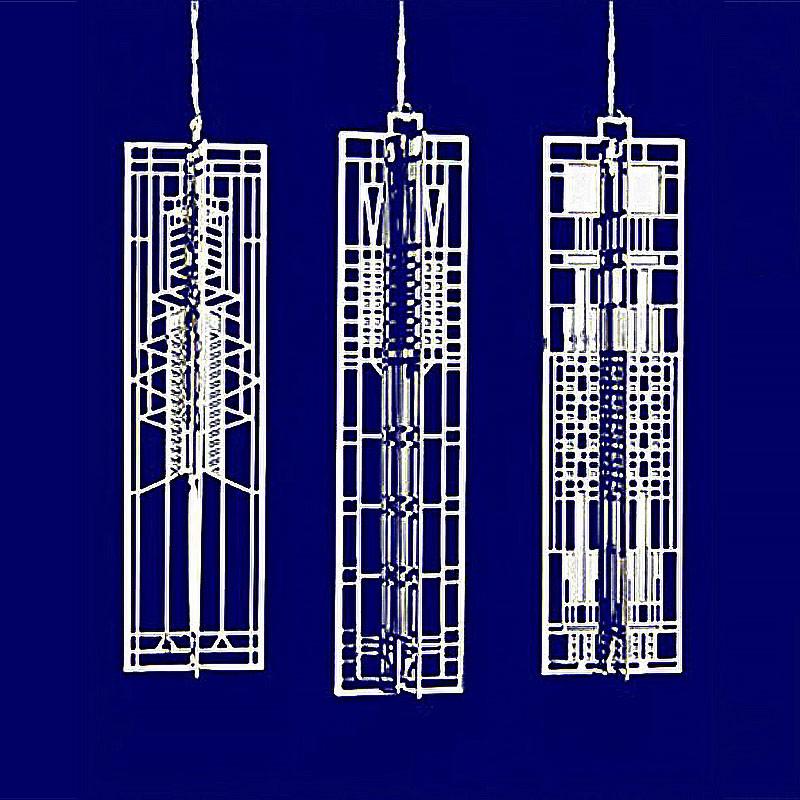 Frank Lloyd Wright 3 Wright-Sicles Gift Set 4