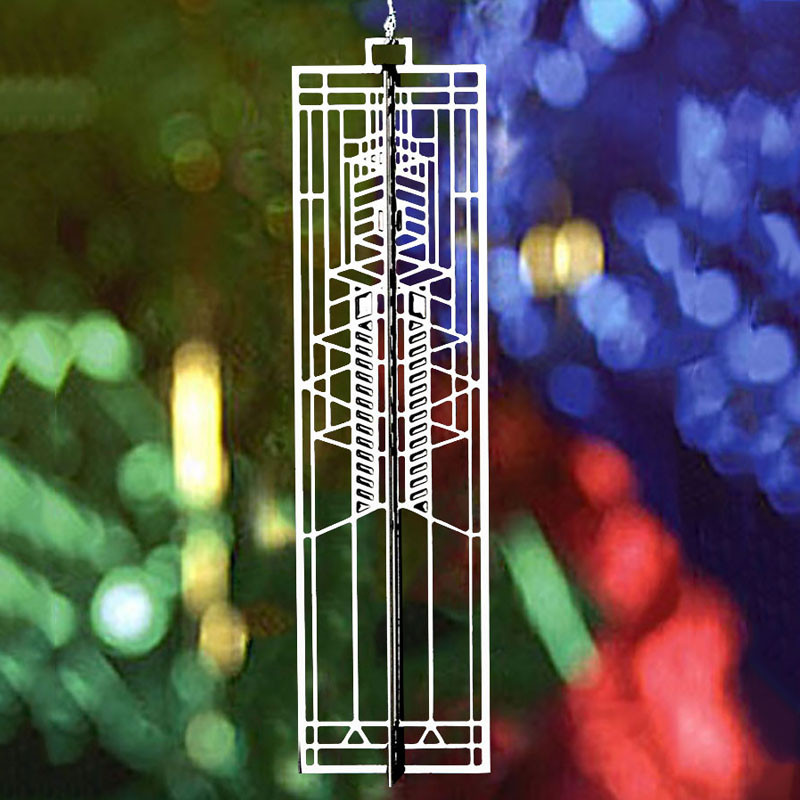 Frank Lloyd Wright Robie Art Glass WrightSicle