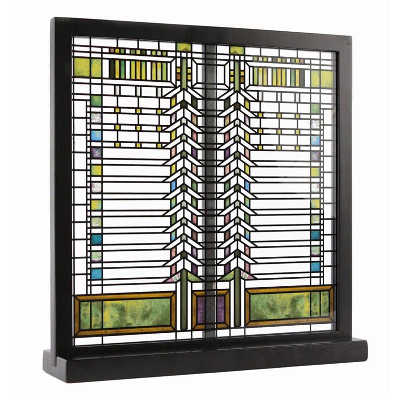 Frank Lloyd Wright Martin Casement Window Stained Glass