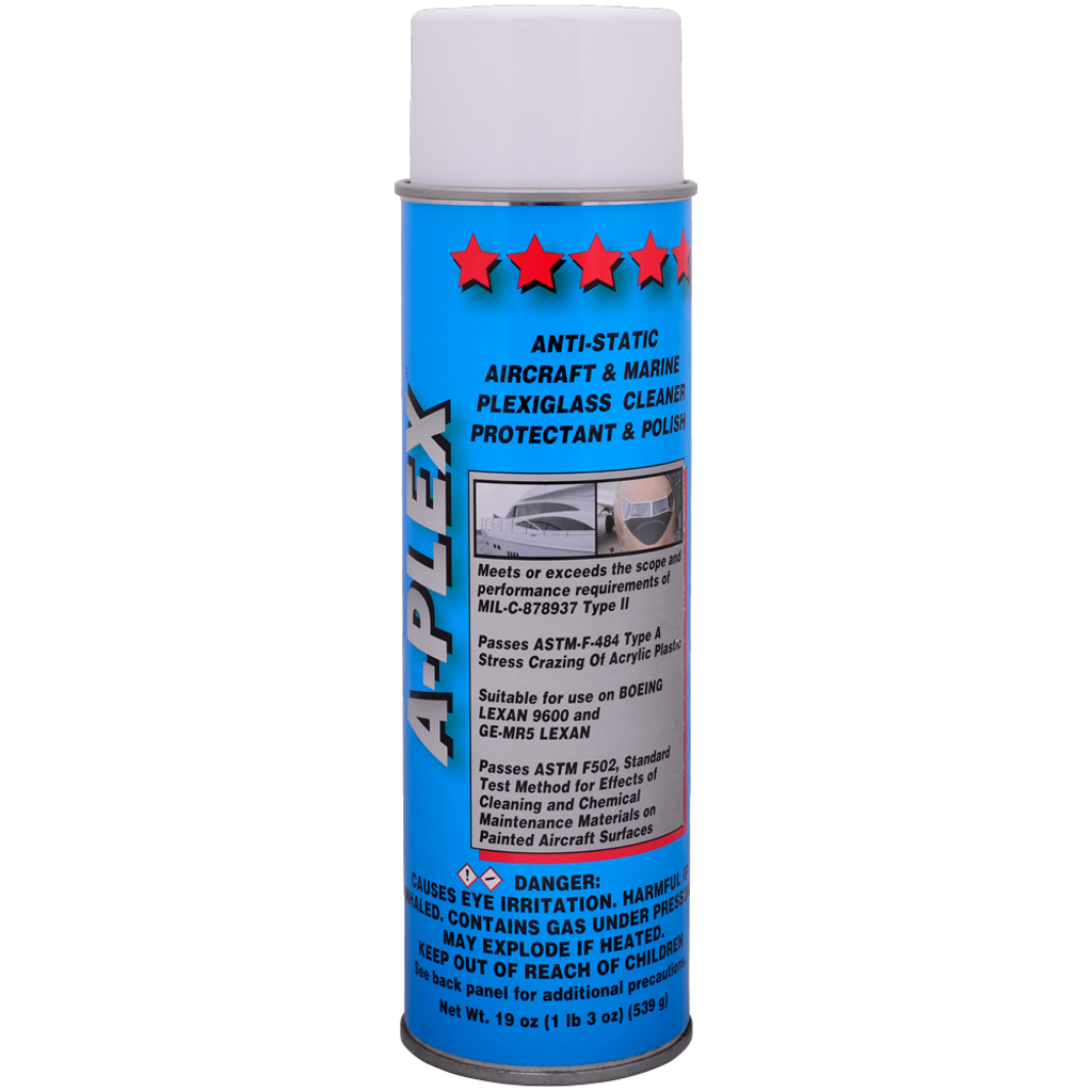 A-Plex plexiglass cleaner, protectant and polish