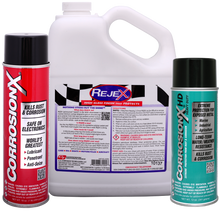 Enough CorrosionX, CorrosionX Heavy Duty and RejeX to take care of all your toys.