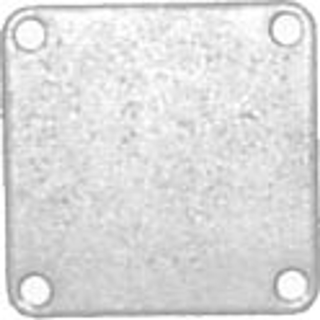 MerCruiser Exhaust Manifold Rear End Cap,1-54870