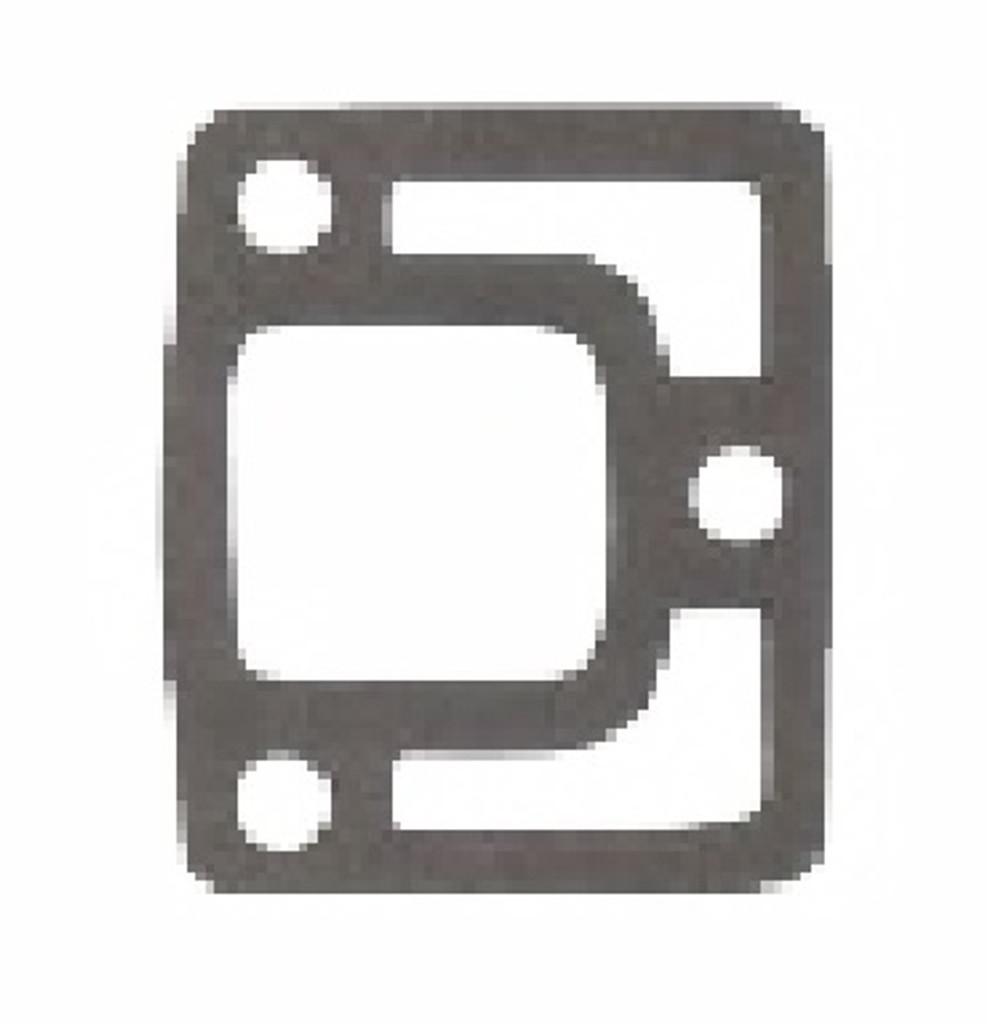 """Interceptor """"A"""" Pattern End Plate gasket,1-0022"""