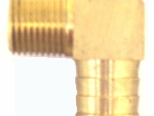 "1/2"" x 3/4"" 90 Degree Brass Fitting,50-525-018"