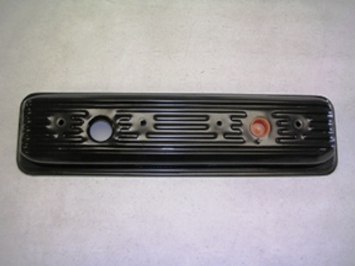 Left Valve Cover (5.7 Liter GM), 556138|Left side steel valve cover for Indmar 5.7 Liter GM engine applications with an oil hole.