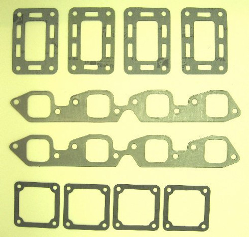 MerCruiser Exhaust Manifold (V8) Gasket Set,MC47-27-46820A1