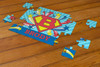 Personalized U-R-A Hero Puzzle Red