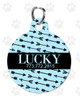 Personalized Pet Tag: Joy & Chaos Round