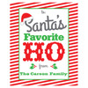 Personalized Elfed Up Wine Labels