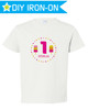 Personalized Birthday Iron On Transfer: Pink Popsicles