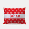 Personalized Let It Snow Pillowcase