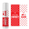 Personalized You're Sweet Valentine Lip Balm Red
