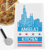Personalized Sweet Home Chicago Kitchen Towel