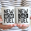 New Mom & New Dad Fuel Mugs