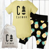 Personalized Pretty Pineapples Gift Set