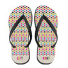 Personalized Multi Stars Flip Flops Bright