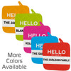 Personalized Hello My Name Is Pot Holder