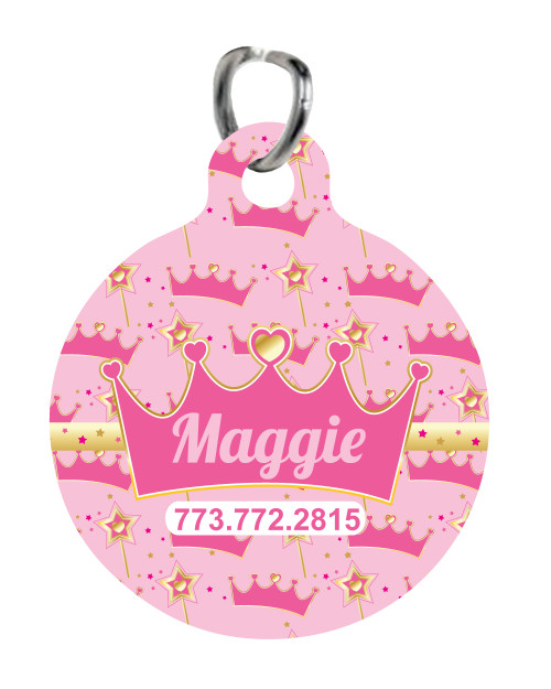 Personalized Pet Tag: Fur Royal Highness