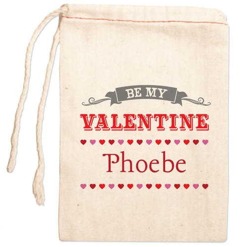 Personalized Gift Bag: Be My Valentine