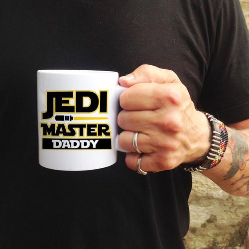 Personalized Jedi Master Mug