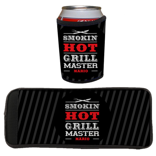 Personalized Grill Master Beverage Wrap